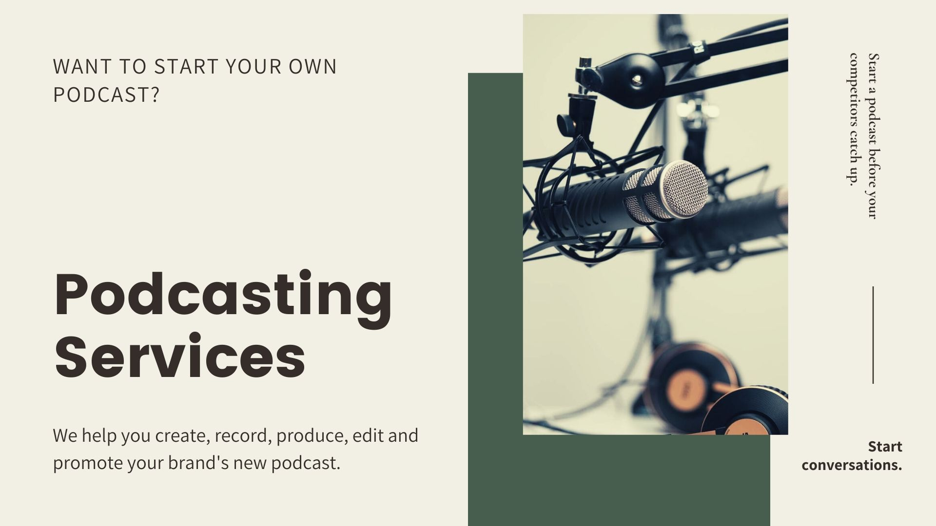 Podcast Slider